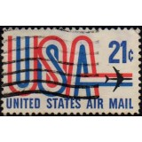 USA Selo Aéreo, 1971, (U), Yt:US PA72, United States, Air Mail.