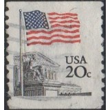 USA Selo, 1981, (U), Yt:US 1372, Flag over Supreme Court.