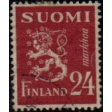 FIN Selo, 1948, (U), Yt:FI 302B, Lion (Coat of Arms).