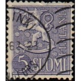 FIN Selo, 1954, (N), Yt:FI 411, Lion (Coat of Arms).