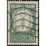 FIN Selo, 1962, (N), Yt:FI 525, The 100th anniversary of the banks of commerce.