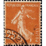 FRA Selo, 1927, (N), Yt:FR 235, Sower - New Values, Semeuse fond plein.