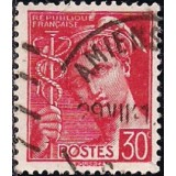 FRA Selo, 1939, (N), Yt:FR 412, New Daily Stamps - Mercury.