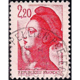 FRA Selo, 1985, (N), Yt:FR 2379, 1985 Liberté - New Values. Liberty coil stamp.