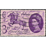 GRB Selo, 1960, (N), Yt:GB 355, The 300th Anniversary of the Act Establishing the General Post Office test.