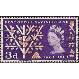 GRB Selo, 1961, (N), Yt:GB 360. The 100th Anniversary of the Post Office, Savings Bank.