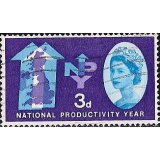 GRB Selo, 1962, (N), Yt:GB 368. National Productivity Year.