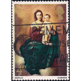 GRB Selo, 1967, (N), Yt:GB 500. Christmas Stamps, Madonna and Child (Murillo).