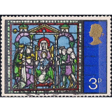 "GRB Selo, 1971, (N), Yt:GB 651. Christmas Stamps, ""Adoration of the Magi""."