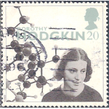 GRB Selo, 1996, (U), Yt:GB 1905. Europa Stamps - The Achievements of Women of the 20th Century, Prof. Dorothy Hodgkin (scientist).