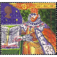 GRB Selo, 1999, (N), Yt:GB 2134. Christmas Stamps, King James I and Bible (Authorised Version of Bible).