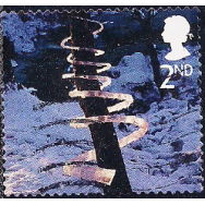GRB Selo, 2003, (N), Yt:GB 2502. Merry Christmas - Self-Adhesive Stamps, Ice Spiral