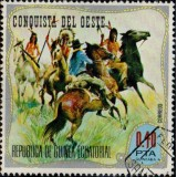 GEQ Selo, 1974, (Mint), Yt:GQ 48-C, Indians and colonists).