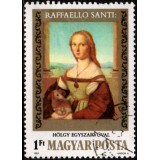 HUN Selo, 1983, (U), Yt:HU 2855, The 500th Anniversary of the Birth of Raphael, 1483-1520.