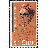 EIR Selo, 1965, (N), Yt:FI 171, The 100th Anniversary of the poet W.B.Yeats William Butler Yeats.