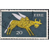 EIR Selo, 1971, (N), Yt:FI 265, New Values, Winged Ox, 8th Century.