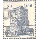 EIR Selo, 1982, (N), Yt:FI 488, Irish Architecture, Aughanure Castle (16th Cty.) Oughterard.