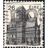 EIR Selo, 1982, (N), Yt:FI 488, Irish Architecture, Cormac-Chapel (12th Cty.) Rock of Cashel.