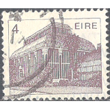 "EIR Selo, 1983, (N), Yt:FI 495, New Values to ""Irish Architechture"", Greenhouse (19th Cty.) Botanic Gardens, Dublin."
