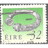 EIR Selo, 1990, (N), Yt:FI 707, Irish Art Treasures, Broighter Collar (1st Cty. BC) - perf 14x15 (litho printing).
