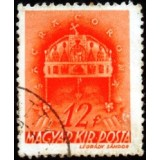 HUN Selo, 1941, (U), Yt:HU 584, Holy Crown of Hungary.
