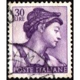 ITA Selo, 1961, Definitivo/Regular, (U), Yt:IT 832, Designs From Sistine Chapel by Michelangelo.