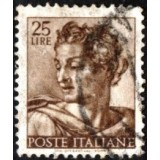 ITA Selo, 1961, Definitivo/Regular, (U), Yt:IT 831, Designs From Sistine Chapel by Michelangelo.