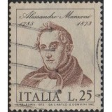 ITA Selo, 1973, (U), Yt:IT 1139, The 100th Anniversary of the Death of Manzoni.