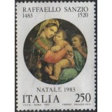 ITA Selo, 1983, (U), Yt:IT 1593, Christmas Stamps - Raphael Paintings.