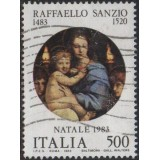 ITA Selo, 1983, (U), Yt:IT 1595, Christmas Stamps - Raphael Paintings.