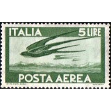 ITA Selo Aéreo, 1962, (Mint), Yt:IT PA141, Flight of Swallows.