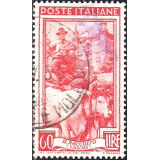 ITA Selo, 1950, Definitivo/Regular, (U), Yt:IT 587, Italy at Work, Driving in the Harvest, Ducal Palace in Urbino (Marche).