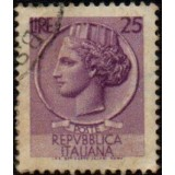 ITA Selo, Regular, 1953, (U), Yt:IT 652, Coin of Syracuse. ITA Selo, Regular, 1955, (U), Yt:IT 713, Coin of Syracuse.