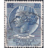 ITA Selo, 1954, (N), Yt:IT 685, Italia, Coin of Syracuse.