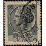 ITA Selo, Regular, 1955, (U), Yt:IT 710, Coin of Syracuse.