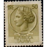 ITA Selo, 1958, Definitivo/Regular, (U), Yt:IT 717B, Coin of Syracuse.