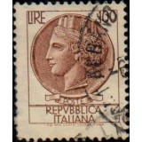ITA Selo, Regular, 1959, (U), Yt:IT 802, Coin of Syracuse.