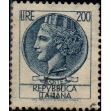 ITA Selo, Regular, 1959, (U), Yt:IT 803, Coin of Syracuse.
