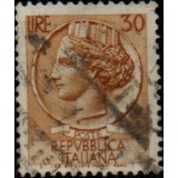 ITA Selo, Regular, 1960, (U), Yt:IT 716A, Coin of Syracuse.