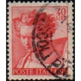 ITA Selo, 1961, (U), Yt:IT 833, Head of the prophet Daniel.