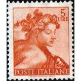 ITA Selo, 1961, (Mint), Yt:IT 827, Designs From Sistine Chapel by Michelangelo.