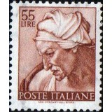 ITA Selo, 1961, Yt:IT 835, (Mint), Head of the Sibyl Cumana, Works of Michelangelo.