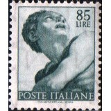 ITA Selo, 1961, Yt:IT 837, (Mint), Testa del profeta Giona, Works of Michelangelo.