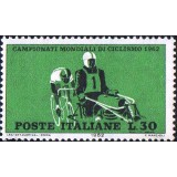 ITA Selo, 1962, Yt:IT 868, (Mint), World Cycling Championships, Race behind engines.