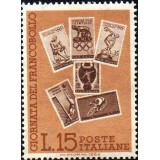 ITA Selo, 1964, Yt:IT 915, (Mint), giornata del francobollo, Six Italian stamps, sports theme.