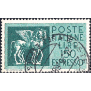 ITA Selo, 1966, (N), Yt:IT E44, Express Stamp, Etruscan Winged Horses.