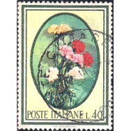 ITA Selo, 1966, (N), Yt:IT 947, Trees and Flowers, Trees and Flowers.