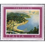 ITA Selo, 1974, (Mint), Yt:IT 1192, Tourist Publicity - Paintings, Portofino.