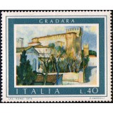 ITA Selo, 1974, (Mint), Yt:IT 1193, Tourist Publicity – Paintings, Tourist- Gradara.