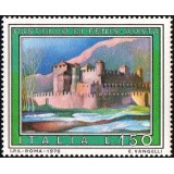 ITA Selo, 1976, (Mint), Yt:IT 1259, Tourist Publicity – Paintings, Tourist- Fenis Castle, Aosta.